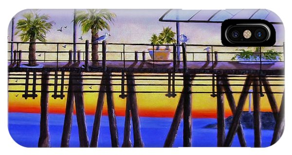 Redondo Beach Pier IPhone Case