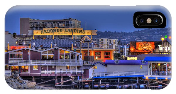 Redondo Landing IPhone Case
