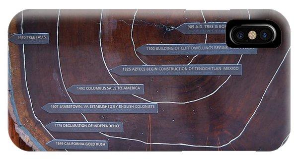 Redwood History IPhone Case