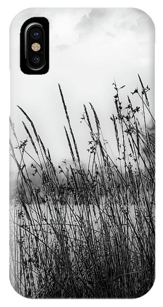 Reeds Of Black IPhone Case
