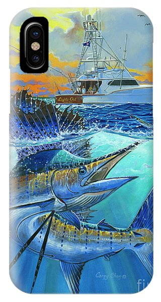 Fishing Boat iPhone Case - Reef Cup 2017 by Carey Chen