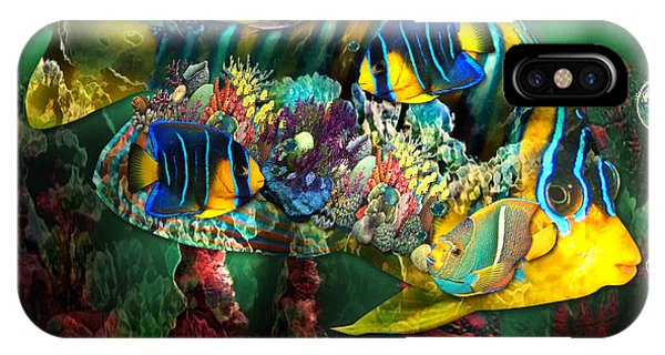 Reef Fish Fantasy Art IPhone Case