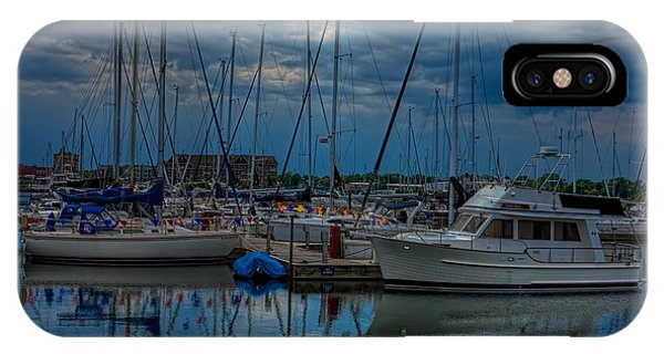 Reefpoint Marina Square Format IPhone Case