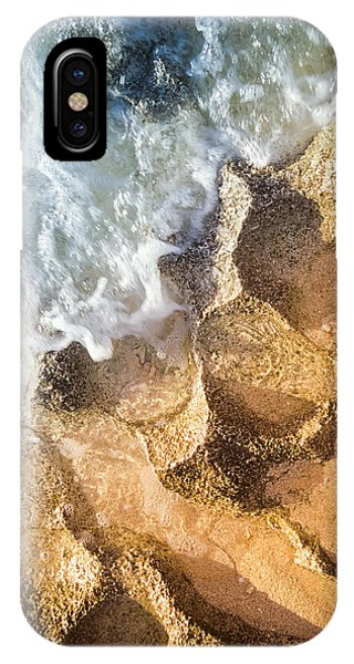 IPhone Case featuring the photograph Reefy Textures by T Brian Jones
