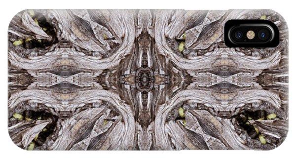 Reflected Alien Priests Kaliedoscope IPhone Case