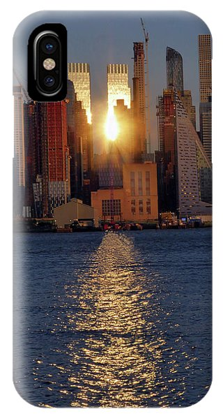Reflected Sunset IPhone Case