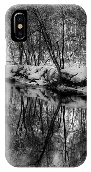 Reflected Trees IPhone Case