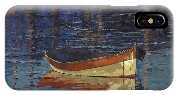 Sold Reflecting At Day's End IPhone Case