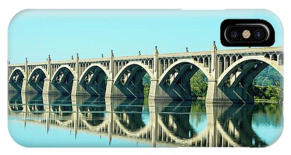 Reflecting Bridge IPhone Case