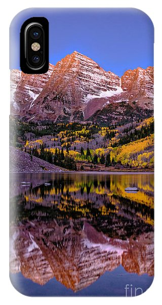 IPhone Case featuring the photograph Reflecting Dawn by Bitter Buffalo Photography