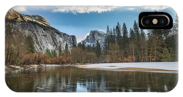 Reflecting On Half Dome IPhone Case