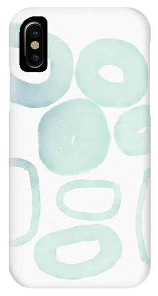 Spa iPhone Case - Reflecting Pools- Art By Linda Woods by Linda Woods
