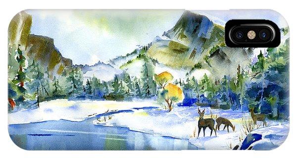 Reflecting Yosemite IPhone Case