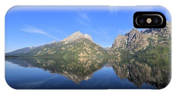 Reflection At Grand Teton National Park IPhone Case