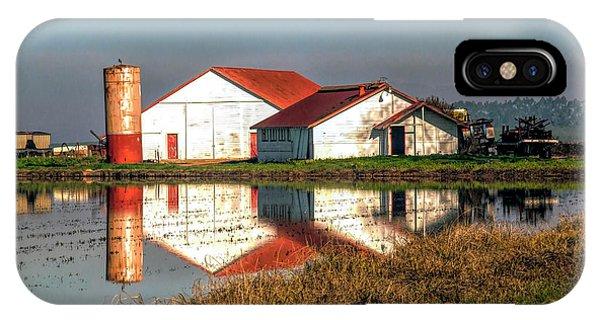 Reflection Barn  IPhone Case