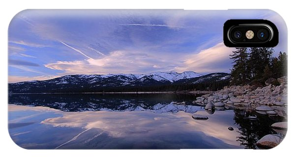 Reflection In Winter IPhone Case