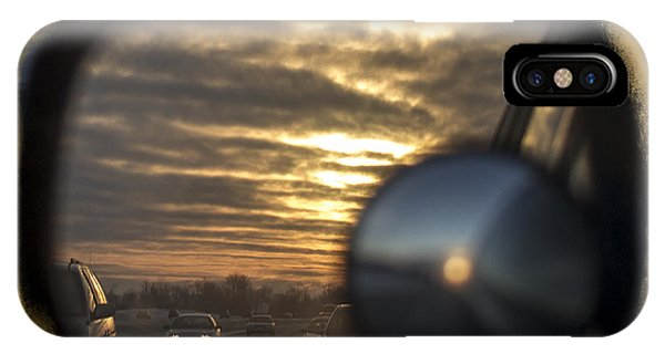 Reflection Of A Sunset IPhone Case