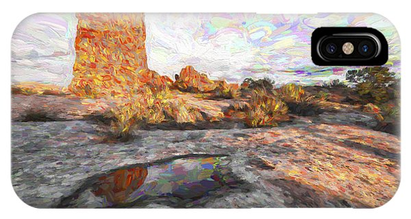 Granite iPhone Case - Reflection Of Arches IIi by Jon Glaser
