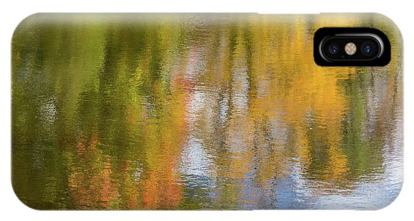Reflection Of Fall #1, Abstract IPhone Case