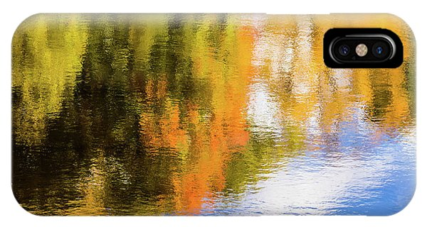 Reflection Of Fall #2, Abstract IPhone Case