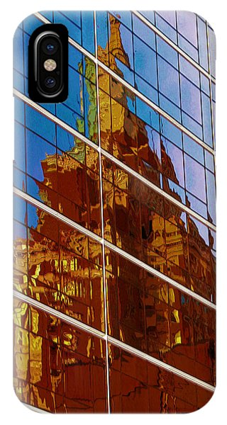 Reflection Of The Past - Tulsa IPhone Case