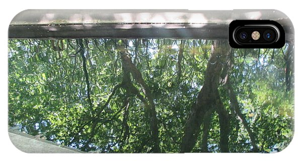 Sunny Days iPhone Case - Reflection Of The Trees In The Water by Anamarija Marinovic