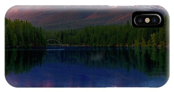 Reflection On California's Lake Siskiyou IPhone Case