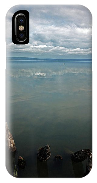 Lake Superior iPhone Case - Reflection Remains by Ty Helbach
