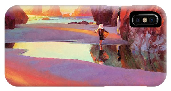 Imagination iPhone Case - Reflection by Steve Henderson