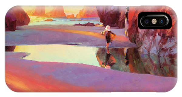 Pacific Ocean iPhone Case - Reflection by Steve Henderson