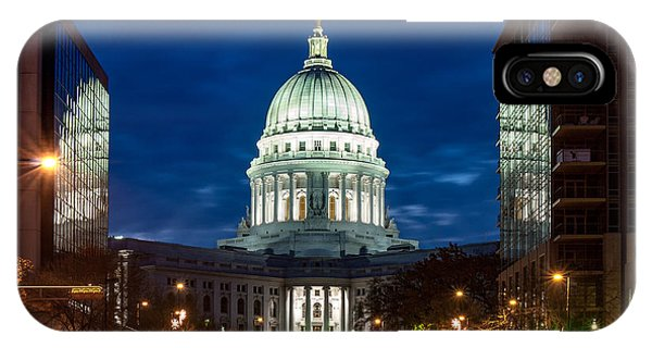 Capitol Building iPhone Case - Reflection Surrounded by Todd Klassy