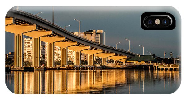 Reflections And Bridge IPhone Case