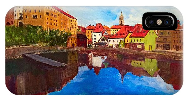 Czech Reflections IPhone Case