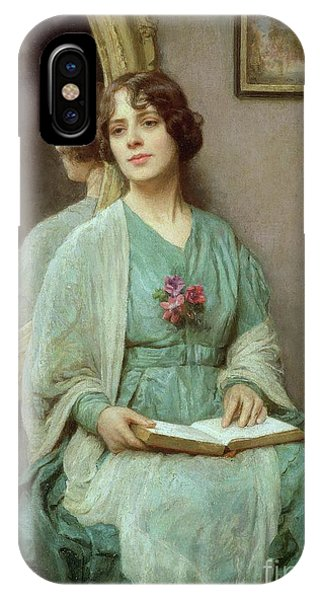 Deep Thought iPhone Case - Reflections by Ethel Porter Bailey