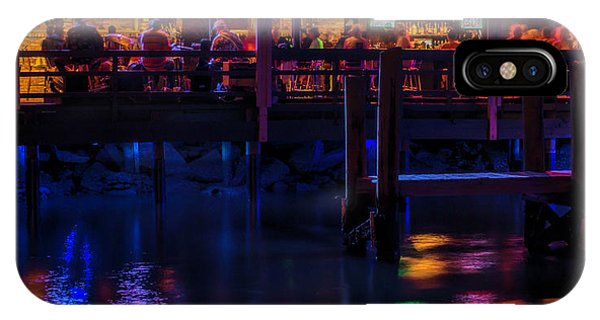 Reflections From Riverview Grill IPhone Case