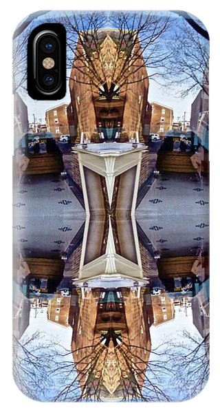 Reflections In Frederick, Maryland IPhone Case