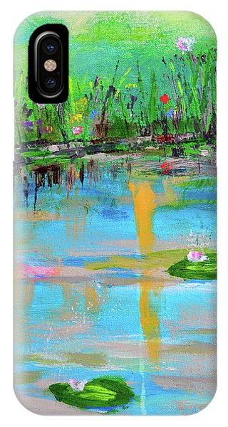 Reflections In Spring IPhone Case
