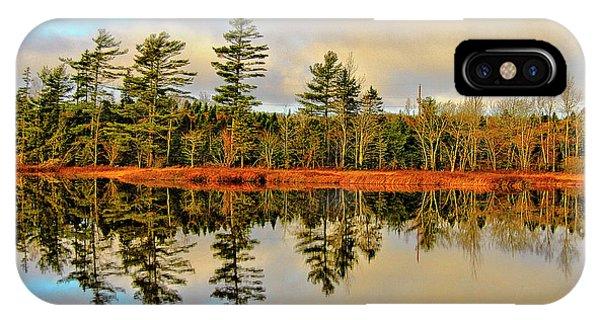 Reflections - Lake Landscape IPhone Case