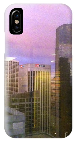 Reflections Looking East IPhone Case