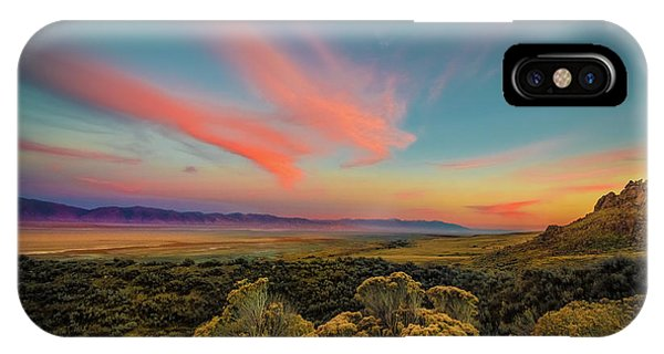 Reflections Of A Sunset Unseen IPhone Case