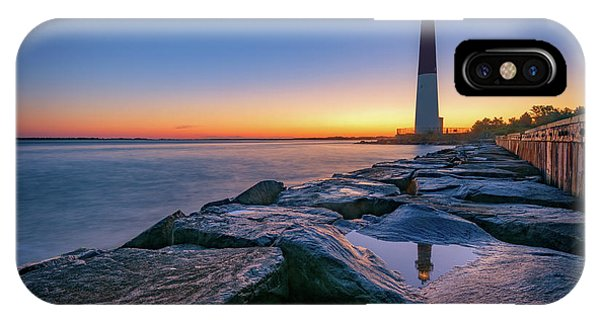 Reflections Of Barnegat Light IPhone Case
