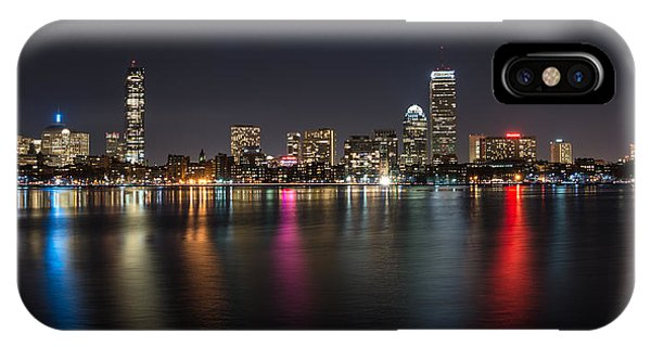 Reflections Of Boston IPhone Case