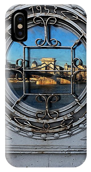 Reflections Of Budapest IPhone Case