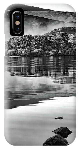 Reflections Of Derwent IPhone Case