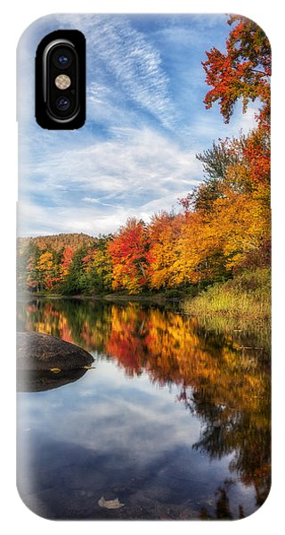 Reflections Of Fall IPhone Case
