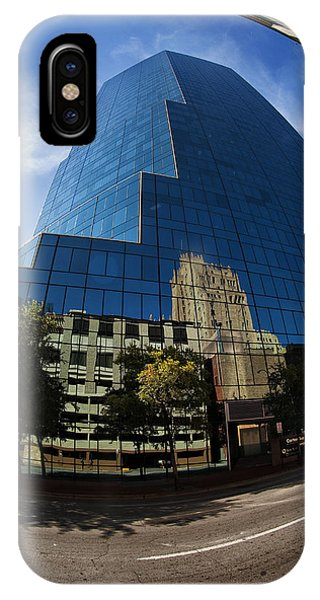 Reflections Of Fort Worth IPhone Case