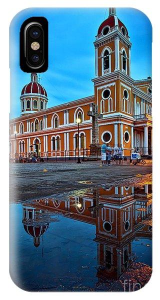 Reflections Of Granada, Nicaragua  IPhone Case