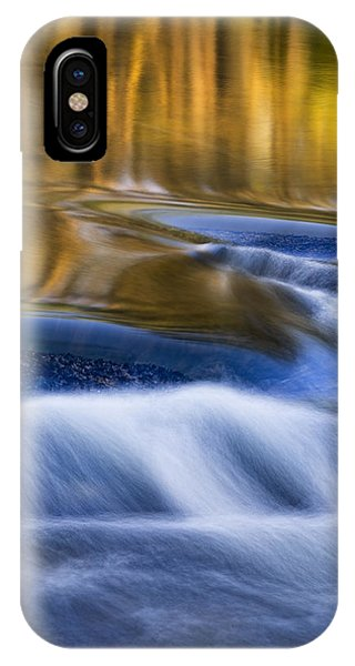 IPhone Case featuring the photograph Reflections  Of Linville River by Ken Barrett