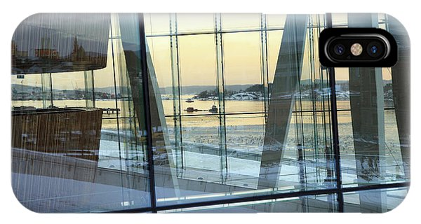 Reflections Of Oslo IPhone Case