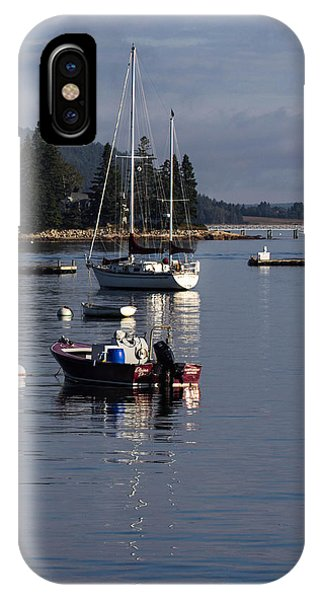 Reflections Of Sw Harbor IPhone Case